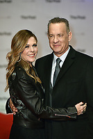 Tom Hanks and wife Rita Wilson<br /> &quot;The Post&quot; European film premiere at the Odeon cinema, Leicester Square, London, England on January 10th, 2017<br /> CAP/PL<br /> &copy;Phil Loftus/Capital Pictures