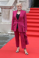 American actress Glenn Close attends the UK Premiere of The Wife at Somerset House in London.. August 9, 2018. Credit: Matrix/MediaPunch ***FOR USA ONLY***<br />