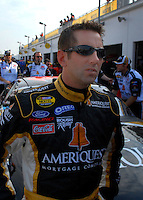 Feb 10, 2007; Daytona, FL, USA; Nascar Nextel Cup driver Greg Biffle (16) during practice for the Daytona 500 at Daytona International Speedway. Mandatory Credit: Mark J. Rebilas