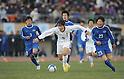 Syoki Kanehira (Yokkaichi Chuo Kogyo), JANUARY 9, 2012 - Football /Soccer : 90th All Japan High School Soccer Tournament final between Ichiritsu Funabashi 2-1 Yokkaichi Chuo Kogyo at National Stadium, Tokyo, Japan. (Photo by Atsushi Tomura/AFLO SPORT) [1035]