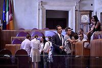 Roma, 10 Agosto 2016<br /> Marcello De Vito Presidente dell'Assemblea<br /> Campidoglio.<br /> Consiglio Comunale straordinario su AMA, rifiuti e le consulenze dell'assessora  all'ambiente