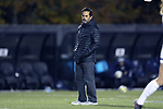 WINSTON-SALEM, NC - NOVEMBER 10: Wake Forest head coach Tony da Luz. The Wake Forest University Demon Deacons hosted the Georgetown University Hoyas on November 10, 2017 at W. Dennie Spry Soccer Stadium in Winston-Salem, NC in an NCAA Division I Women's Soccer Tournament First Round game. Wake Forest advanced 2-1 on penalty kicks after the game ended in a 0-0 tie after overtime.