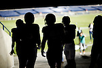 1208-48 570<br /> <br /> 1208-48 BYUtv FTB Ad, Football players in tunnel at LVES Lavell Edwards Stadium, Silhouettes.<br /> <br /> August 17, 2012<br /> <br /> Photo by Jaren Wilkey/BYU<br /> <br /> &copy; BYU PHOTO 2012<br /> All Rights Reserved<br /> photo@byu.edu  (801)422-7322