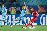 Shanghai FC Forward Elkeson De Oliveira Cardoso (R) in action against Jiangsu FC Midfielder Wu Xi (L) during the AFC Champions League 2017 Round of 16 match between Jiangsu FC (CHN) vs Shanghai SIPG FC (CHN) at the Nanjing Olympic Stadium on 31 May 2017 in Nanjing, China. Photo by Marcio Rodrigo Machado / Power Sport Images