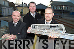 Paudie O'Donoghue, Brian Horgan and Martin Carey, Killarney Railway Station, which won Best Railway Station in Munster and Best Railway Station in Ireland overall last week.