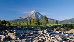 Mount Taranaki (Egmont). Taranaki Region. New Zealand.