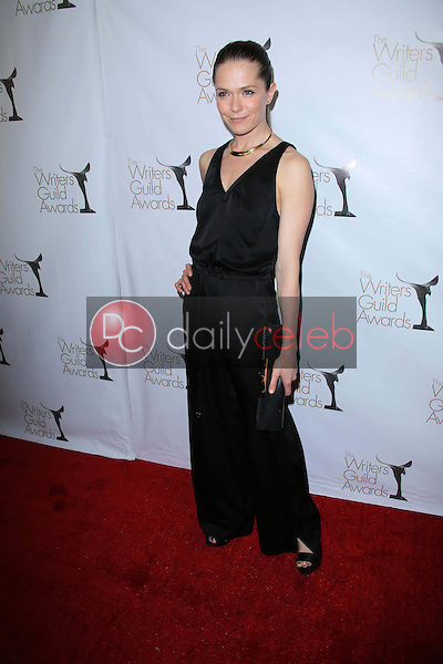 Katie Aselton<br /> at the 2013 Writers Guild Awards, JW Marriott, Los Angeles, CA 02-17-13<br /> David Edwards/DailyCeleb.com 818-249-4998
