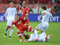Fussball WM 2014 Qualifikation: Schweiz - Albanien