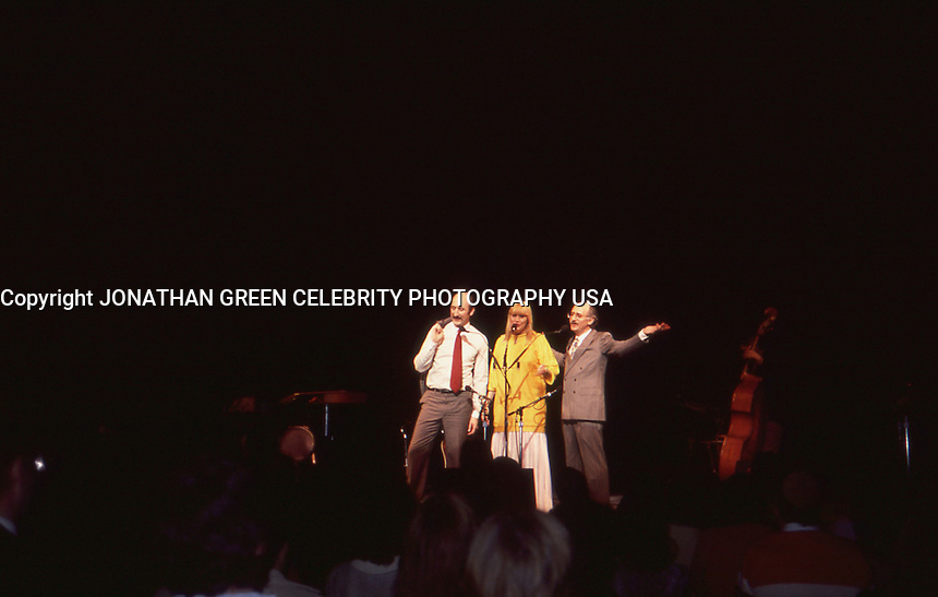 Peter Paul &amp; Mary 1986 Concert NYC<br /> by Jonathan Green