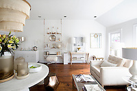 modern bright living room Get A Room is a boutique in Scarsdale New York for interior design.