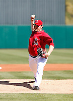 Sean O'Sullivan - Los Angeles Angels - 2009 spring training.Photo by:  Bill Mitchell/Four Seam Images