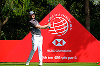 Justin Harding (RSA) during the 1st round at the WGC HSBC Champions 2018, Sheshan Golf CLub, Shanghai, China. 25/10/2018.<br /> Picture Phil Inglis / Golffile.ie<br /> <br /> All photo usage must carry mandatory copyright credit (&copy; Golffile | Phil Inglis)
