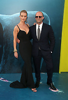 HOLLYWOOD, CA - August 6: Rosie Huntington-Whiteley, Jason Statham, at Warner Bros. Pictures And Gravity Pictures' Premiere Of &quot;The Meg&quot; at TCL Chinese Theatre IMAX in Hollywood, California on August 6, 2018. <br /> CAP/MPI/FS<br /> &copy;FS/MPI/Capital Pictures