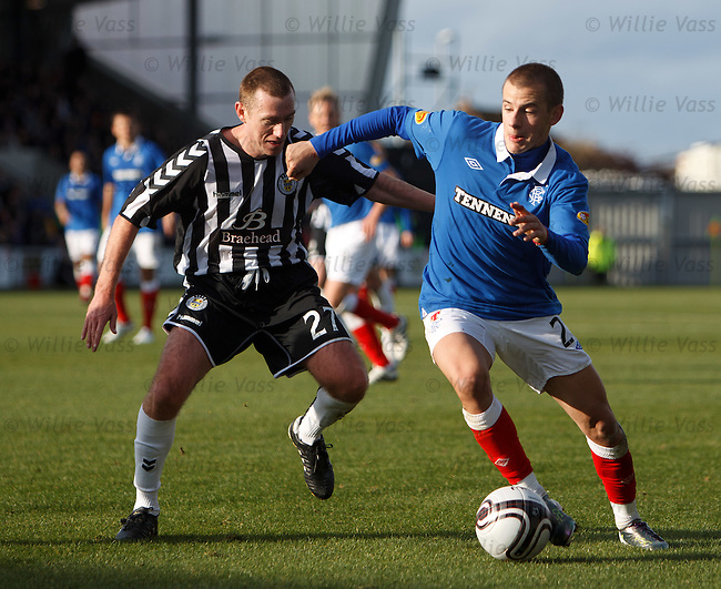 Vladimir Weiss on the wing with Paddy Cregg