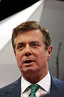 ***FILE PHOTO*** Paul Manafort Receives 90 months total in prison time after second sentence.<br /> Cleveland, OH - July 17: Paul Manafort pictured on July 17, 2016 at Republican National Convention at Quicken Loans Arena the night before the Republican National Convention in Cleveland, Ohio <br /> CAP/MPI/MRN<br /> &copy;MRNJ/MPI/Capital Pictures