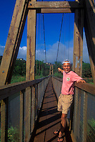 Hanapepe Swinging Bridge, Hanapepe, Kauai