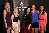 Junior Team of the Year finalists, Counties Manukau U17 Netball Team. Counties Manukau Sport Sporting Excellence Awards held at the Telstra Clear Pacific Events Centre Manukau on December 1st 2011.