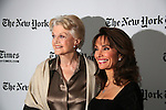 Angela Lansbury (was in the TimesTalk series which preceded the AMC TimesTalk with Susan Lucci) and All My Children at 40 celebrate on January 10, 2010 at the New York Times Arts & Leisure Weekend at the TimesCenter Stage, New York City, New York. (Photo by Sue Coflin/Max Photos)