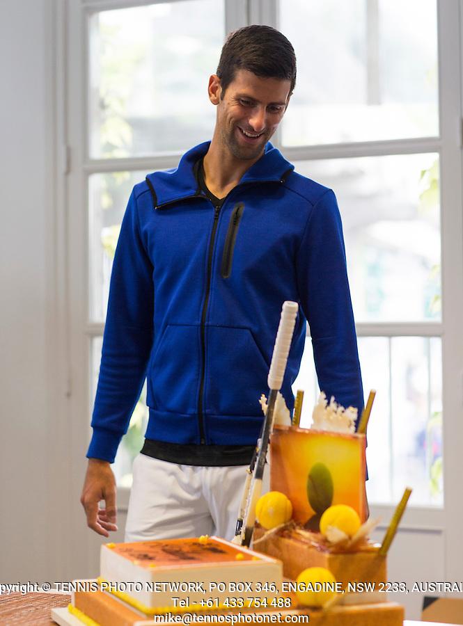 NOVAK DJOKOVIC (SRB)<br /> <br /> TENNIS - FRENCH OPEN - ROLAND GARROS - ATP - WTA - ITF - GRAND SLAM - CHAMPIONSHIPS - PARIS - FRANCE - 2016  <br /> <br /> <br /> &copy; TENNIS PHOTO NETWORK