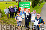 The Launch of Lord Mayor of Castlemaine  on Thursday Pictured Liz Ryhall O'Connor, Michael O'Shea, Pat McCarthy, Mayor Of Kerry,John B O'Sullivan and Mike flynn.Back l-r Brendan Dennehy, Castlemaine, Mike McKenna Firies,j ohn Francis Flynn, Vice Mayor South West Kerry and Denis Tangney, Mid Kerry Vintage