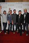 Randy Rogers Band walk the red carpet at Lavo Nightclub, Las Vegas, NV, April 17th, 2010  © Al Powers / RETNA ltd
