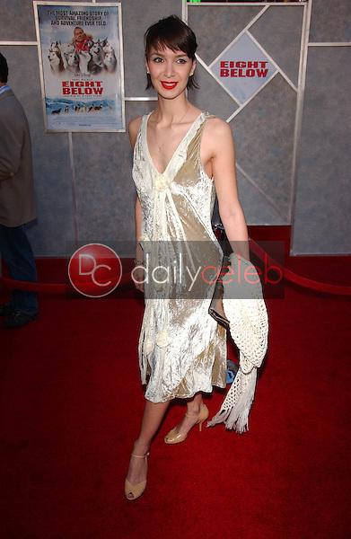 "Lindsay Zir<br />at the premiere of ""Eight Below"". El Capitan, Los Angeles, CA 02-12-06<br />Dave Edwards/DailyCeleb.com 818-249-4998"