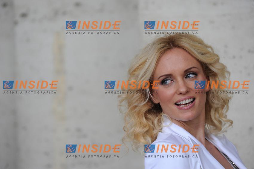 . Roma 22/02/2010  Presentazione del film ALTA INFEDELTA' nelle sale dal 26/02/2010, nella foto:  Justine Mattera .Foto GB/Insidefoto