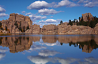 Sylvan Lake in South Dakota's Custer State Park