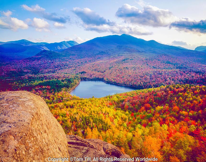 Heart Lake from MT. Jo, Adirondack Park and Preserve, New York Near Lake Placid  Adirondack Mountains