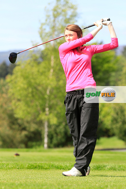 Lisa O' Shea (Shannon) on the 7th tee during Round 1 of the Irish Women's Open Strokeplay Championship at Dun Laoghaire Golf Club on Saturday 23rd May 2015.<br /> Picture:  TJ Caffrey / www.golffile.ie