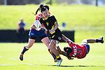BLENHEIM, NEW ZEALAND - Ayesha Leti-I'iga during the FPC - Tasman Mako v Wellington Pride. Lansdowne Park, Blenheim, New Zealand.  Saturday 12 September 2020. (Photo by Chris Symes/Shuttersport Limited)