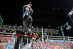 Michael Barnes of Red performs during the 2013 Rock On The Range festival at Columbus Crew Stadium in Columbus, Ohio.