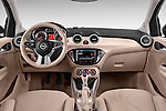 Straight dashboard view of a 2013 Opel Adam Glam Hatchback2013 Opel Adam Glam Hatchback