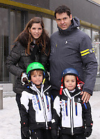 Louis de Bourbon and family enjoy the holidays in Saint-Moritz - Switzerland