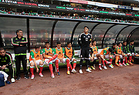 Mexico City, Mexico - Sunday June 11, 2017: Mexico, El Tri, Alfredo Talavera during a 2018 FIFA World Cup Qualifying Final Round match with both men's national teams of the United States (USA) and Mexico (MEX) playing to a 1-1 draw at Azteca Stadium.