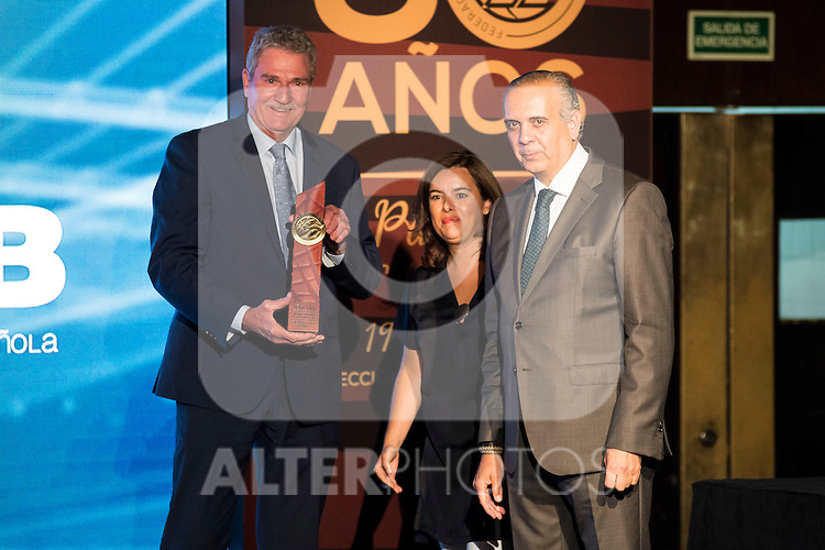Wayne Brabender during the 80th Aniversary of the National Basketball Team at Melia Castilla Hotel, Spain, September 01, 2015. <br /> (ALTERPHOTOS/BorjaB.Hojas)