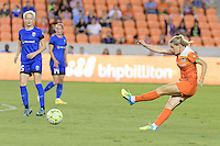 Houston, TX - Sunday Sept. 25, 2016: Kealia Ohai during a regular season National Women's Soccer League (NWSL) match between the Houston Dash and the Seattle Reign FC at BBVA Compass Stadium.
