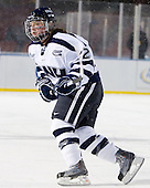 Brittany Skudder (UNH - 22) - The University of New Hampshire Wildcats defeated the Northeastern University Huskies 5-3 (EN) on Friday, January 8, 2010, at Fenway Park in Boston, Massachusetts as part of the Sun Life Frozen Fenway doubleheader.