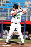 Jamestown Jammers Chris Coghlan during a NY-Penn League game at Russell Diethrick Park on August 13, 2006 in Jamestown, New York.  (Mike Janes/Four Seam Images)