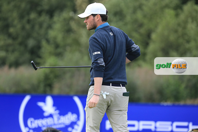 Cormac Sharvin (NIR) during the second round of the Porsche European Open , Green Eagle Golf Club, Hamburg, Germany. 06/09/2019<br /> Picture: Golffile | Phil Inglis<br /> <br /> <br /> All photo usage must carry mandatory copyright credit (© Golffile | Phil Inglis)