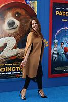 "LOS ANGELES - JAN 6:  Brooke Burke Charvet at the ""Paddington 2"" US Premiere at Village Theater on January 6, 2018 in Westwood, CA"