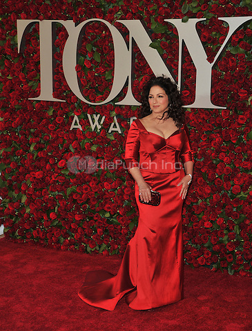 NEW YORK, NY - JUNE 12: Gloria Estefan at the 70th Annual Tony Awards at The Beacon Theatre on June 12, 2016 in New York City. Credit: John Palmer/MediaPunch