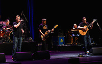 21 September 2018 - Hamilton, Ontario, Canada.  Charlie Reid, Garry John Kane, Stevie Christie and Craig Reid of Scottish folk/rock duo The Proclaimers perform on stage during their Canadian Tour at the FirstOntario Concert Hall.   <br /> CAP/ADM/BPC<br /> ©BPC/ADM/Capital Pictures