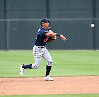 Jesus Maestre - Cleveland Indians 2020 spring training (Bill Mitchell)