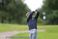 Corey Scullion (Moyola Park) during the Connacht U14 Boys Amateur Open, Ballinasloe Golf Club, Ballinasloe, Galway,  Ireland. 10/07/2019<br /> Picture: Golffile | Fran Caffrey<br /> <br /> <br /> All photo usage must carry mandatory copyright credit (© Golffile | Fran Caffrey)