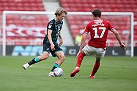 George Byers of Swansea City in action during the Sky Bet Championship match between Middlesbrough and Swansea City at The Riverside Stadium in Middlesbrough, England, UK. Saturday 20th June 2020