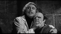 Gene Wilder, Peter Boyle<br /> in Young Frankenstein (1974) <br /> *Filmstill - Editorial Use Only*<br /> CAP/NFS<br /> Image supplied by Capital Pictures