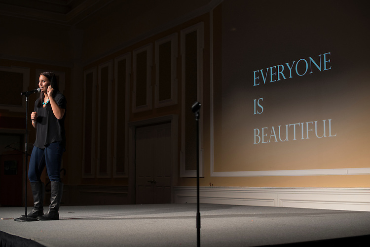 Emma Nappi presents and reflects on her experiences with eating disorders as a way to empower other women to seek help if they need it, but also with a universal message that all women are beautiful and should take time out of their day to remind one another.