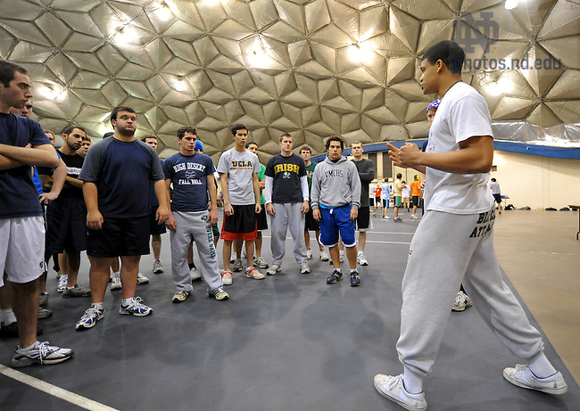 Nov. 11, 2009: Early practice for Bengal Bouts at Stepan Center..Photo by Matt Cashore/University of Notre Dame..