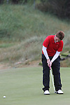 Adam Doran (Ardee) on the 3rd Hole, Day 2 at the East of Ireland Amateur Open Championship 2011 in Co.Louth Golf Club....(Photo credit should read Jenny Matthews www.newsfile.ie)....This Picture has been sent you under the conditions enclosed by:.Newsfile Ltd..The Studio,.Millmount Abbey,.Drogheda,.Co Meath..Ireland..Tel: +353(0)41-9871240.Fax: +353(0)41-9871260.GSM: +353(0)86-2500958.email: pictures@newsfile.ie.www.newsfile.ie.